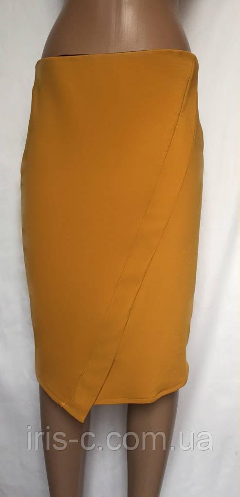 Женская юбка из плотного трикотажа ZARA размер S/M