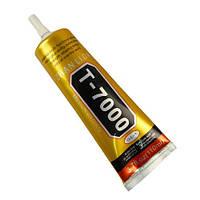 Клей-герметик T7000, для приклеивания тачскрина, дисплея, 15 мл, черный