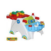 Обучающий столик + 17 блоков Wader 54555