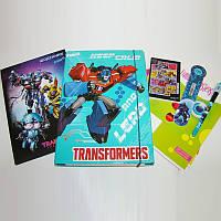Школьный канцелярский набор Transformens (11 предметов)