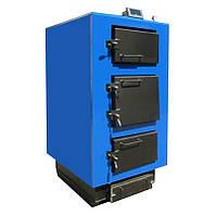Котел твердотопливный UNIMAX КТ 100 кВт Турбо с пультом, вентиляторами (3 шт),форсунками в комплекте