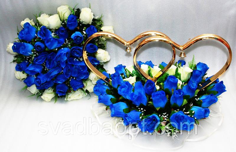 Набор украшений на машину Бутон - Магазин свадебных аксессуаров Svadba Love в Днепре