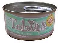Tobias  85гр*24шт -консерва для собак (разные вкусы ) +Доставка бесплатно!