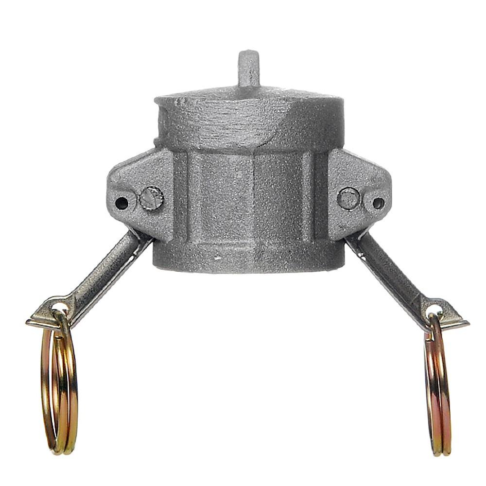 Алюминиевый БРС Camlock (камлок) Тип DC