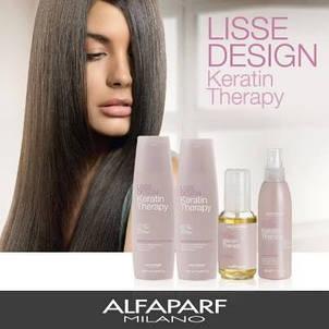 Кератиновое выпрямление волос Alfaparf Milano Lisse Design Keratin Therapy