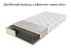 """Ортопедический матрас """"Шанс-2"""" Зима-Лето"""