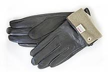 Женские кожаные перчатки ВЯЗКА СЕНСОРНЫЕ Большие W15-160063s3, фото 3