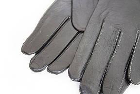 Женские кожаные перчатки КРОЛИК Средние W15-160062s2, фото 2