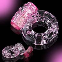 Эрекционное кольцо, колечки с вибрацией для стимулирования пениса и клитора