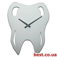 Настенные часы с логотипом на заказ Acrylic [Акрил 1 слой, Открытые]