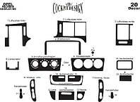 Накладки на панель Опель Вектра / Opel Vectra B 1995-1999