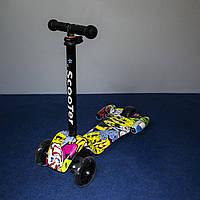 Самокат Scooter ракета 1001