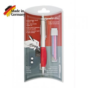 Ручка разметочная Signet FINO SB с цветными стержнями для кожи и силикона