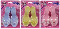 Игрушечные туфельки для девочки  3 вида (556 0041)