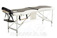Массажный стол алюминиевый 2-х сегментный стол для массаж 2 цвета