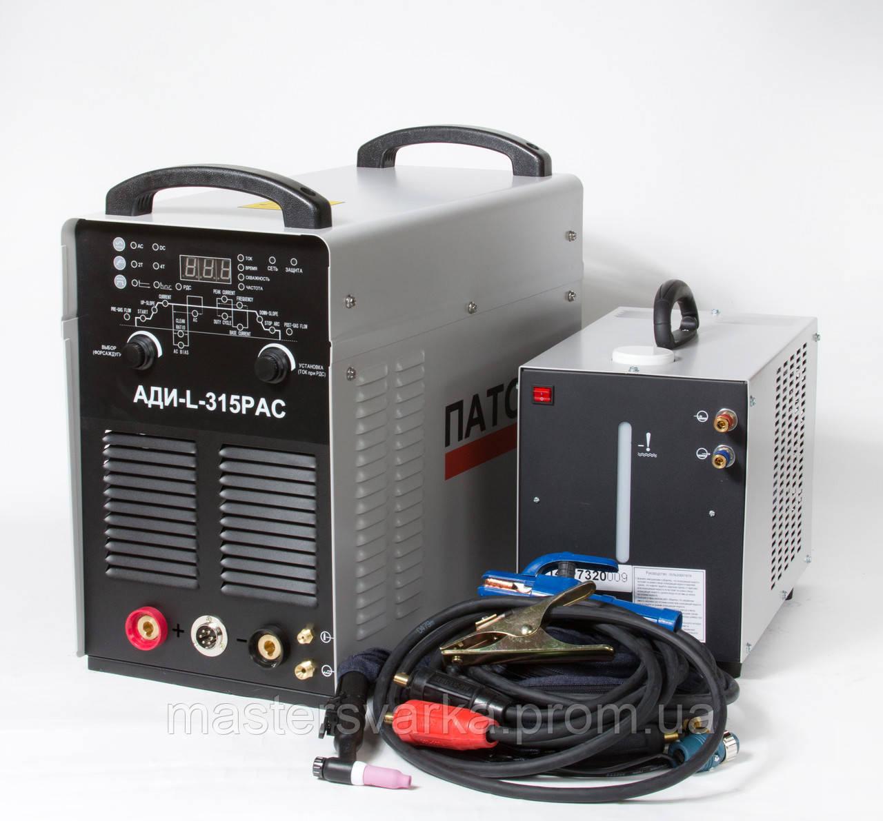 Сварочный аргонодуговой аппарат для сварки алюминия Патон AДИ-L-315Р AC/DC TIG/MMA