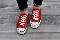 Крутые кеды Converse All Star Red