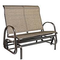 Двухместное садовое кресло-качалка Montreal из текстилена