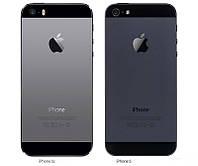 Китайский Айфон 5 S, 1сим, 4 дюйма, емкостной, черный.