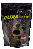 Бойлы Traper Ultra Boilies протеиновые 1кг 16мм Bloodworm (Мотыль)