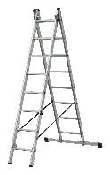 Лестница 2-х секционная 2х6, ELKOP Словакия, фото 1