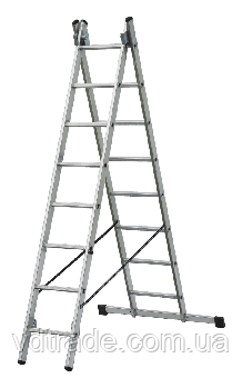 Лестница 2-х секционная 2х6, ELKOP Словакия