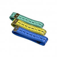 Сантиметровая лента 2смх150см цв ассорти (уп 12шт) 0334-5200 Veritas