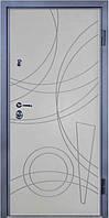 Входные двери металлические, бронированные, с декоративной МДФ накладкой с одной стороны  VARTA PREMIER VP100