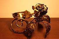 Оригинальный подарок - Кованая роза в Днепропетровске, фото 1