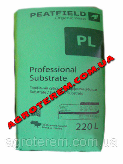 Торфяной субстрат Peatfield PLS-1 220 L