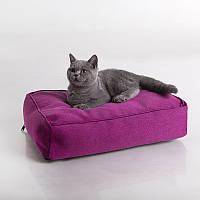 Cat Flashy Berry - Ослепительный (мягкий прямой лежак для кота)