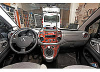 Накладки на панель Пежо Партнер / Peugeot Partner Tepee 2008+