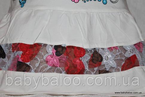 Туника из фатина и гипюра для девочки  (от 2 до 4 лет), фото 2