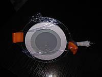 """ЛЕД светильник встраиваемый (Glass DownLight) 6 Вт, 420Лм, """"Круг"""", фото 1"""