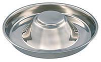Trixie TX-25281 Puppy Bowl - миска для щенков из нержавеющей стали 1,4л