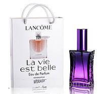Мини парфюм Lancome La Vie Est Belle в подарочной упаковке 50 ml