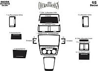 Накладки на панель Шкода A5 / Skoda A5 2004+