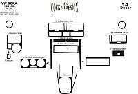 Накладки на панель Фольцваген Бора / Volkswagen Bora