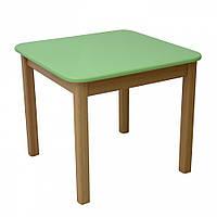 Детский столик Верес дерево/плёнка МДФ (персик)