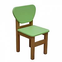 Детский стульчик Верес дерево/плёнка МДФ  (персик)