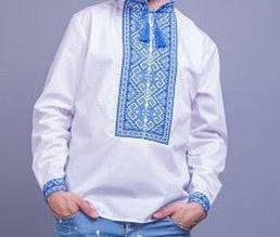 Мужская вышиванка в традиционном украинском стиле БП
