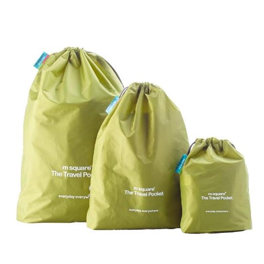 Набор водонепроницаемых мешочков для белья на завязочках