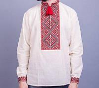 Вышиванка мужская из натуральной льняного полотна БП