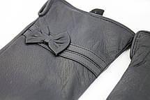 Женские кожаные перчатки ВЯЗКА Средние W22-160051s2, фото 2