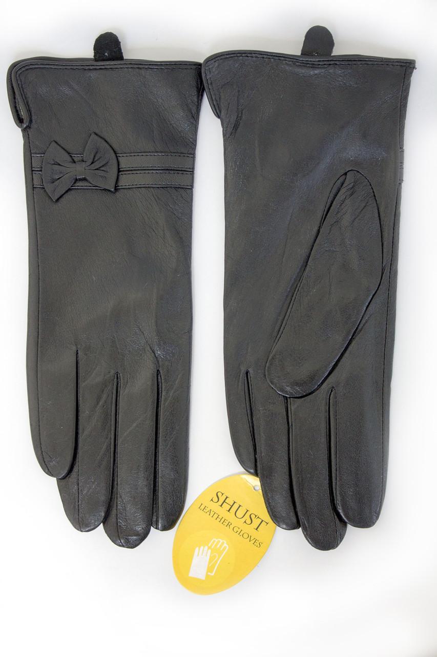 Женские кожаные перчатки КРОЛИК Маленькие W22-160052s1