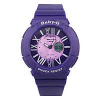 Женские спортивные Часы Casio G-Shock  BABY-G BGA-160 BLUE (касио джи шок)