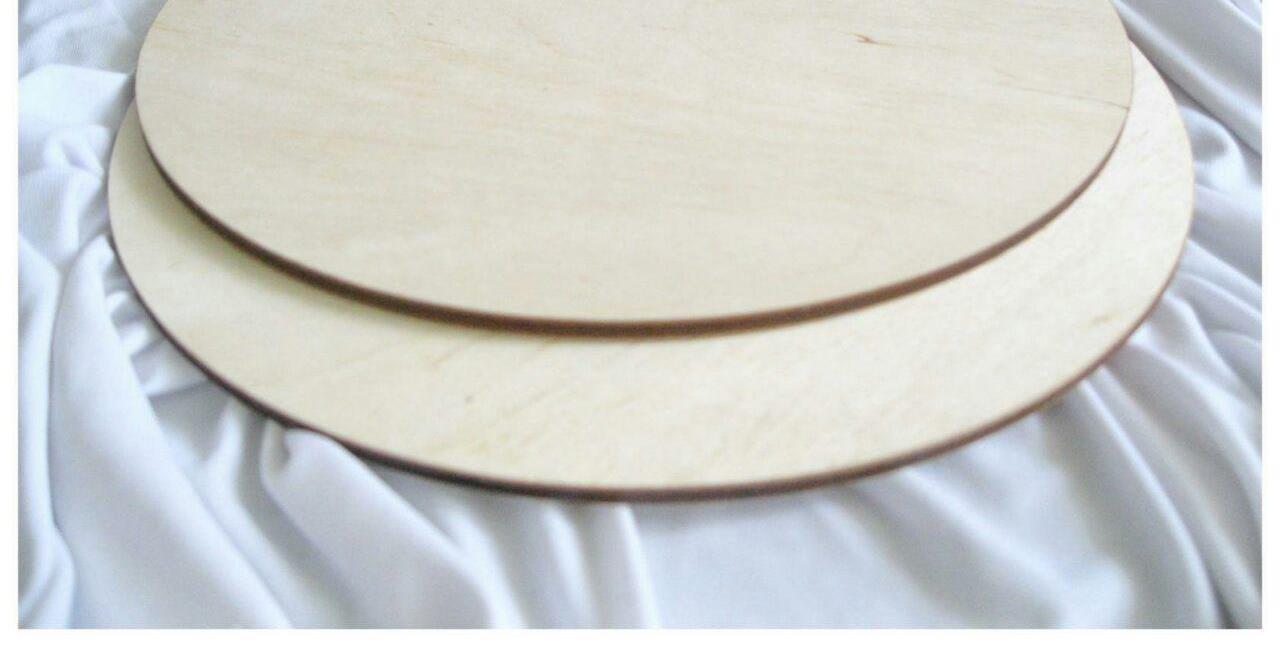 Подложка под десерт (фанера) D-24см(код 05952)