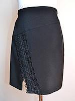 Детская юбка для девочки школьная черный