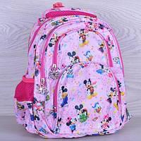 """Рюкзак школьный  """"Miki mouse"""". 1-4  класс. Нежно-розовый. Оптом и в розницу"""