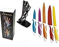 Набор кухонных ножей на подставке 6 эл N34